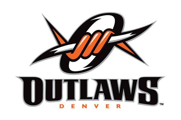 Fisher Lighting and Controls Denver Colorado CO Rep Representative Partner Denver Outlaws Major League Lacrosse Logo Mile High