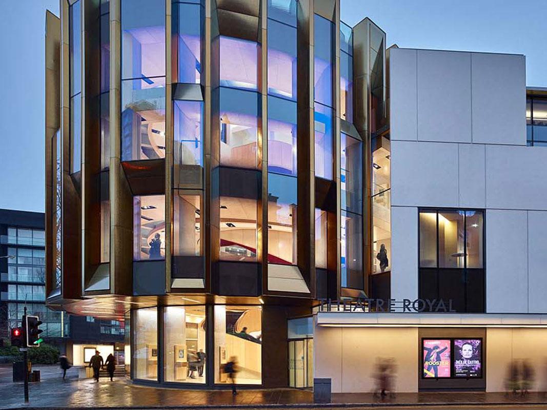 Fisher Lighting and Controls Reggiani Illuminazione Company LED Colorado Denver Representative Rep Theatre Royal Glasgow Scotland