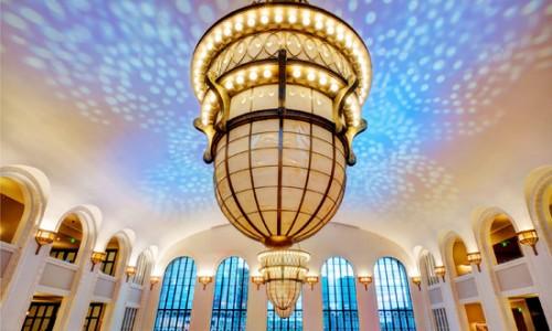 Crawford Hotel Union Station Fisher Lighting Controls Denver Colorado